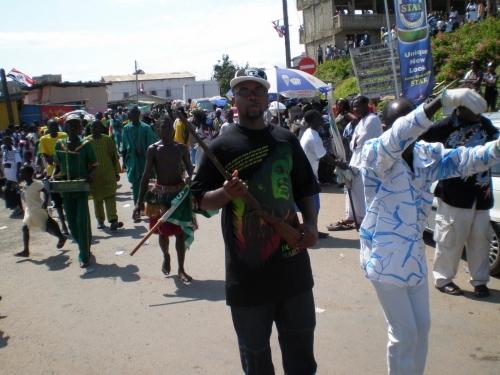FETU AFHYE ME WITH GUN TURNED_Ghana