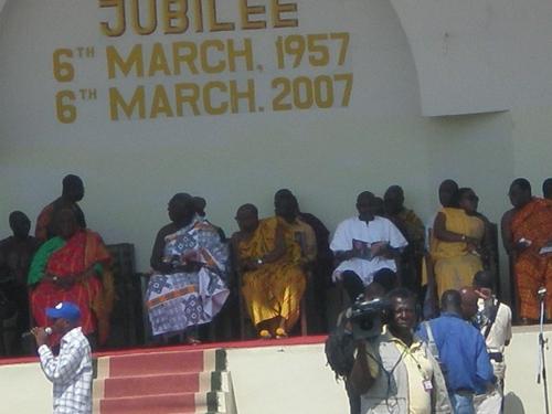 pRESIDENT AT DURBAR GROUNDS 1_Ghana